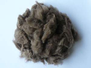 Cashmere - Dehaired Dark Grey/Brown 17.5 MIC  (100 gms)
